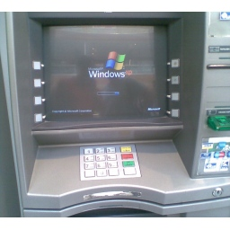 Odlazak Windows XP sa bankomata: 95% bankomata u svetu koristi XP